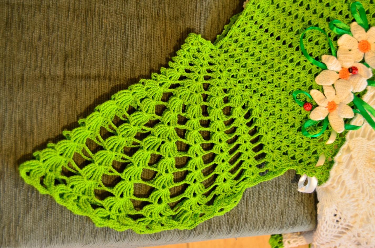 Схемы по вязанию крючком для маленькой девочки 10