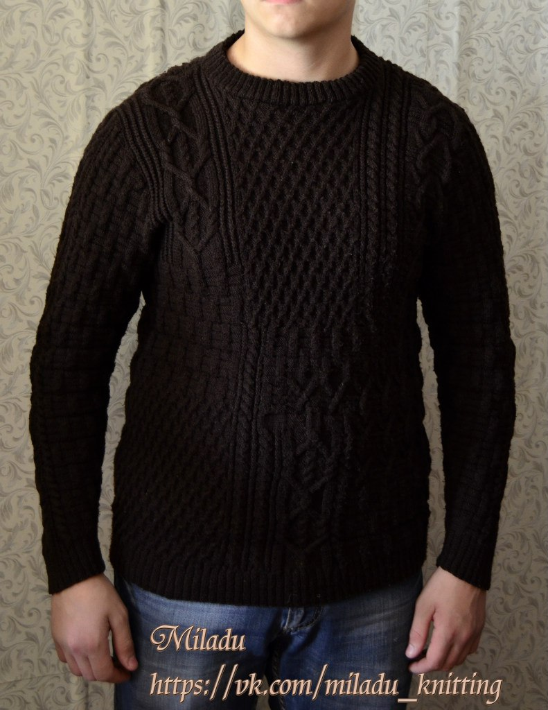 Handmade men's sweater size L